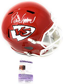 c317195b30b Patrick Mahomes Kansas City Chiefs Signed Autograph Speed Full Size Helmet  JSA Certified
