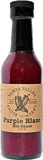 Yampa Valley Sauce Purple Blaze Hot Sauce, 5 Ounces (30 Servings), Single Pack