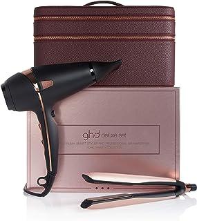 ghd – Set Royal dynasty Deluxe, con platinum+ Styler y secador, con estuche de lujo, edición limitada, color oro rosa