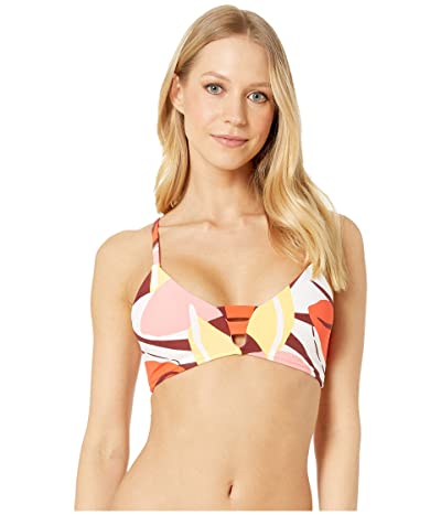 Seafolly Cut Copy Multi Strap Bralette Bikini Top (Tangelo) Women