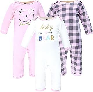 Hudson Baby Kombinezon dziecięcy Uniseks - niemowlęta Hudson Baby Unisex Baby Cotton Coveralls, Girl Baby Bear