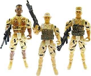 Mozlly Military Army Soldier Action Figures Playset, 8
