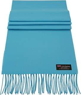 Rosemarie Collections 100% Cashmere Winter Scarf Made In Scotland