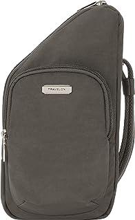 Travelon Bag, Smoke, Compact Crossbody