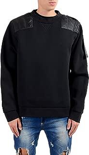 Moncler & Craig Green Maglia Girocollo Men's Black Crewneck Sweatshirt US 2XL IT 56