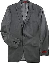 Alfani Mens Stepweave Two Button Blazer Jacket
