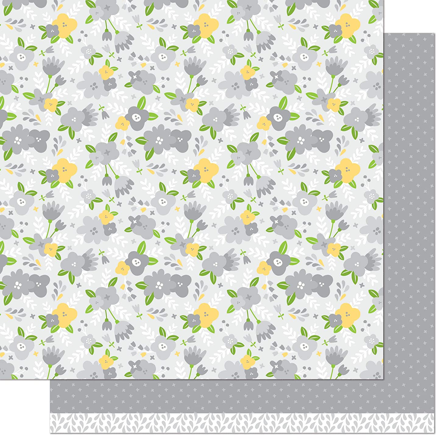 Lawn Fawn LF1875 Karolina 12x12 Patterned Paper (Pack of 12)