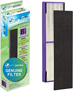 Germ Guardian FLT4850PT True HEPA GENUINE Air Purifier Replacement Filter B, with Pet Pure Treatment for GermGuardian AC4900, AC4825, AC4850PT, CDAP4500, AC4300, and More