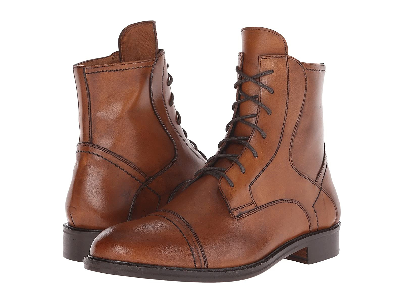 Massimo Matteo 7-Eye Cap Toe BootCheap and distinctive eye-catching shoes