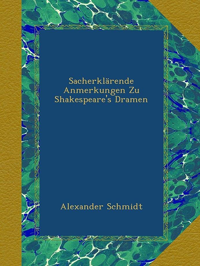 貢献する接ぎ木鉄道Sacherklaerende Anmerkungen Zu Shakespeare's Dramen