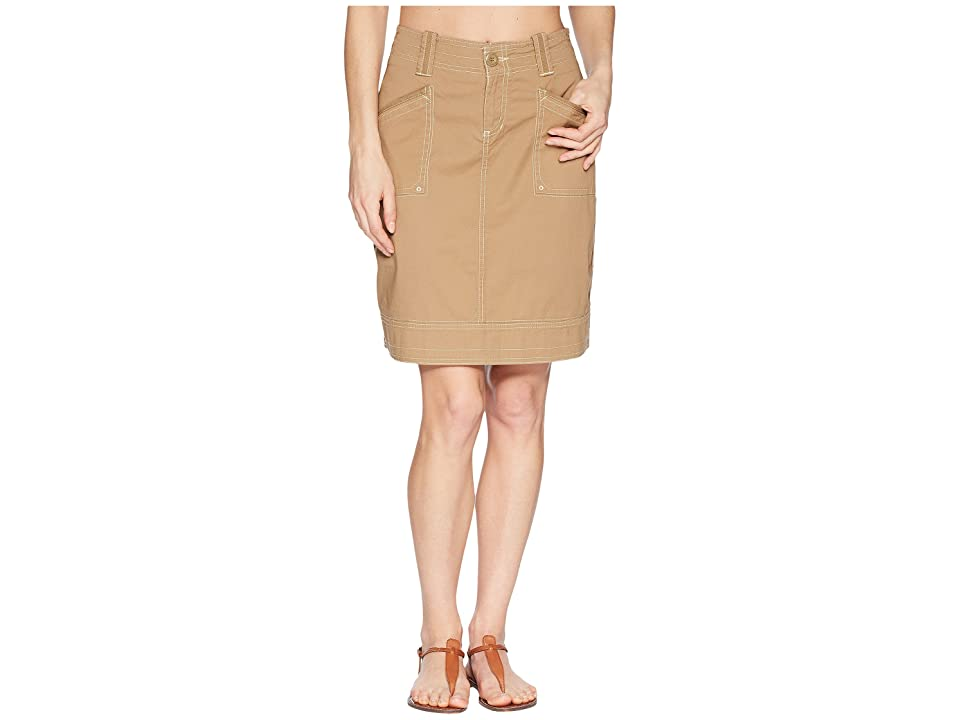 Aventura Clothing Arden Skirt (Dark Khaki) Women