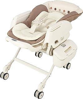 コンビ ベビーラック ネムリラ AUTO SWING エッグショック BE ココアブラウン 新生児~4才頃対象 サイレントスウィング機能搭載