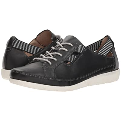 Rieker D1917 Malea 17 (Black/Black/White) Women