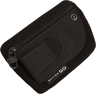 Luggage Clip Pouch, Black, One Size