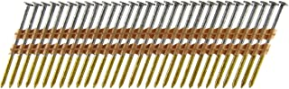 B&C Eagle A2X113HDR/22 Round Head 2-Inch x .113 x 22 Degree Hot Dip Galvanized Ring Shank Plastic Collated Framing Nails (500 per box)
