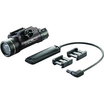 Streamlight High Lumen Rail Mounted Tactical Light, Black, Light Only w/Long Gun Kit