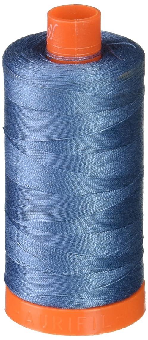 Aurifil Mako Cotton Thread Solid 50wt 1422yds Blue Grey