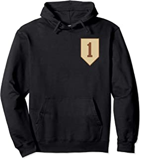1st Infantry Division Desert Tan Insignia Pullover Hoodie