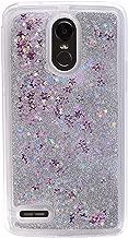 Girl Glitter Liquid Case for LG Stylo 3 2017 LS775 4 Plus Aristo 2 X210 K10 Cover Shiny Sequin Bling Phone Cases,Silver,for LG Stylo 2
