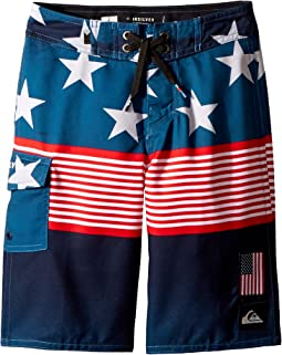 Quiksilver Kids - Division Independent Boardshorts (Big Kids)
