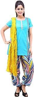 Vastra Vinod Women's Casual Wear Fabulous Cotton Ethnic Set