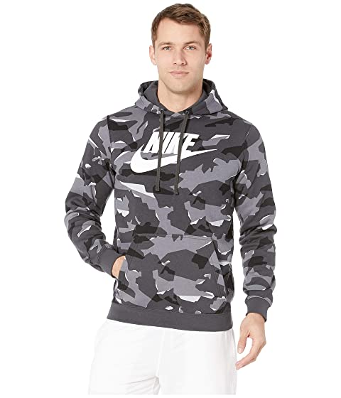pretty nice 21dfe 6cbad Nike NSW Club Camo Pullover Hoodie