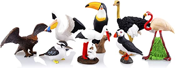 plastic crane bird