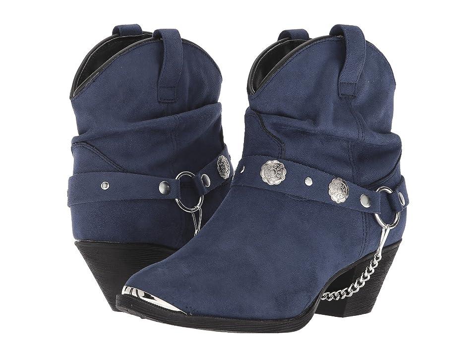 Dingo Fiona (Navy) Cowboy Boots