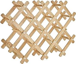 Harmony 2724623300207 Wine Bottles Rack, Brown, Wood