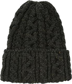 (ハイランド2000)Highland 2000 ニット帽 British Wool Cable Bobcap