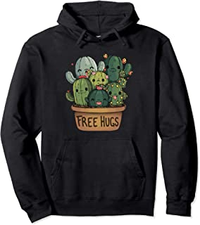 Free Hugs Cuddly cactus- Cute Cactus Design- Awesome cactus Pullover Hoodie