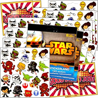 Party Stickers for Kids - Activity Sticker Fun Set Bundle Includes Specialty Separately Licensed GWW Reward Stickers (Star...