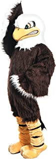 Bald Eagle Mascot Costume Brown