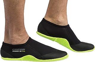 Cressi Unisex's Minorca 短靴,黑色/*流浪鞋底,S 码 (5/6.5)
