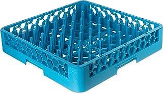 Carlisle RTP14 OptiClean Tall Peg Plate Rack, Blue (Pack of 6)