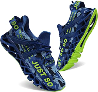 Mens Running Shoes Athletic Walking Tennis Shoes Blade Fashion Sneakers