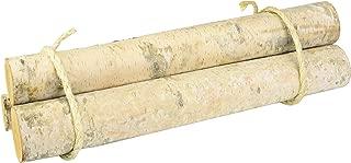 Wilson Enterprises Set of 3 Roped Bundle of Birch Logs