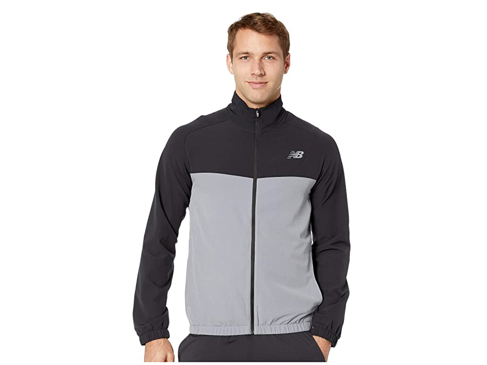 New Balance Tenacity Woven Jacket (Gunmetal) Men