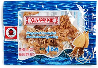 Sze Hing Loong Ladybird Seasoned Cuttlefish (Pack of 5 of 13g each)[Hong Kong Imported]