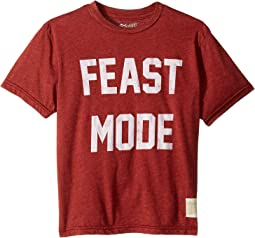 Feast Mode Vintage Heather Short Sleeve Tee (Big Kids)