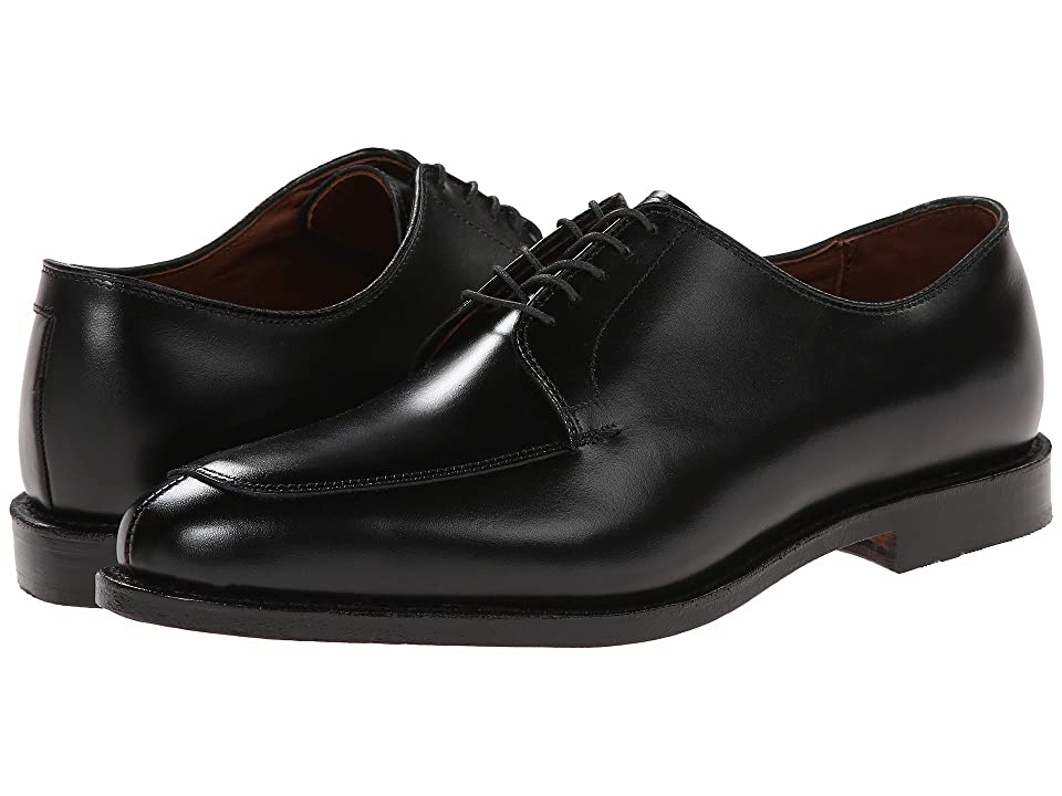 1940s Mens Shoes | Gangster, Spectator, Black and White Shoes Allen Edmonds Delray Black Mens Lace Up Moc Toe Shoes $394.95 AT vintagedancer.com