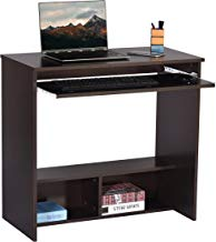 DeckUp Wood Matte Finish Bonton Table and Study Desk (Dark Wenge)