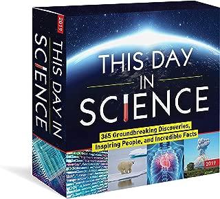 Best science calendar 2019 Reviews