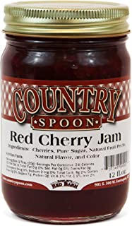 Country Spoon Red Cherry Jam - 12 Ounces