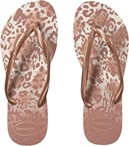 cec8b2f5e Havaianas. Slim Animals Flip Flops.  19.45MSRP   28.00. White Golden Blush