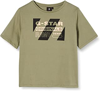 G-STAR RAW Sq10576tee Shirt Camiseta para Niñas