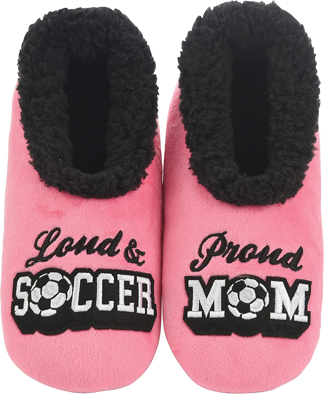 Snoozies Slippers for Women - Pairables Womens Slippers - Soccer Mom