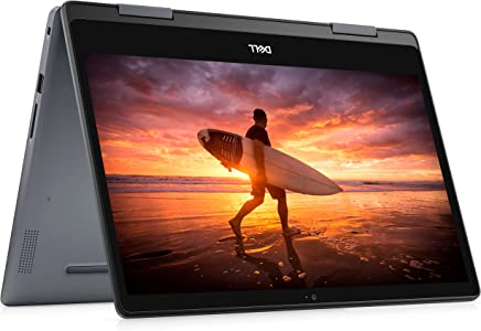 Dell Inspiron 14 5000 2 合 1 14 英寸 FHD 触摸屏 可转换笔记本电脑4F1K6 Intel Core i3-8145U, 4 GB RAM 14 Inch