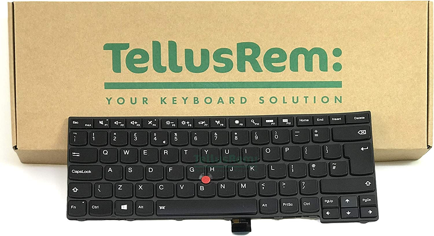 Replacement Backlit Keyboard for Lenovo Thinkpad T470s (Backlit, US)