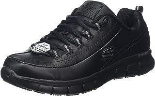 Chaussure de travail noire femme skechers